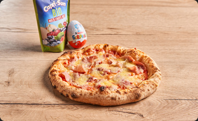 Image de Le Menu Kids - Pizza Jambon / Emmental