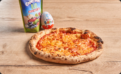Image de Le Menu Kids - Pizza Emmental
